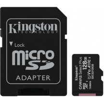 Paměťová karta Kingston Canvas Select Plus microSDXC 128 GB, Class 10, U1